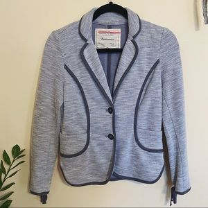 Cartonnier • Anthropologie grey fitted blazer